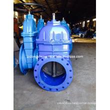 Вакуумный вентиль большого диаметра с упругим сечением, Pn 10/16, DIN