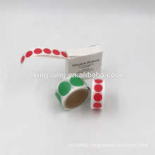 custom colorful small round dot sticker