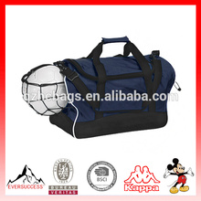 Preço de fábrica Mais Recente Projeto Duffel Bag Saco Da Equipe de Futebol Equipes com Sapatos e Compartimento de Bola