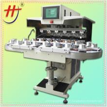 X Imprimante pad pad à six couleurs avec convoyeur