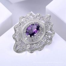 broches de moda moderna diamante design mais recente para as mulheres