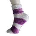 Feather Garn Strips Boden Socken