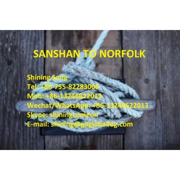 Foshan Sanshan Sea Freight ไปยัง United States Norfolk