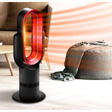 Liangshifu Moderne 10 pouces Portable Table Électrique Ventilateur De Chauffage D'air avec Infrarouge 5 mètres Télécommande 2100 Watt