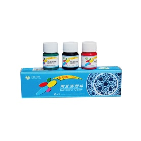 6 Colors Ceramic Paint Set