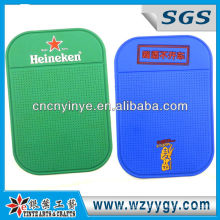 Promotional soft pvc cell phone mat