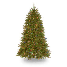 7.5 FT. Pre-Lit Dunhill Fir Hinged Artificial Christmas Tree with 700 Dual Color Lights (MY100.086.00)