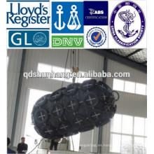 Oil Tanker utilizó la defensa de goma flotante anticolisión