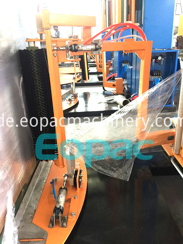 Top Sheet Dispenser Pallet Stretch Wrapper
