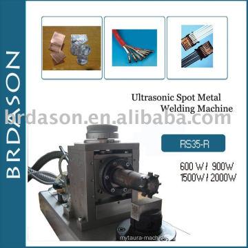 Ultrasonic welding machine for copper and aluminum sheet