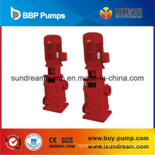Pompe à eau diesel automatique de lutte contre l'incendie