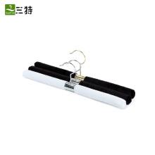 straight white black stainless steel coat hanger
