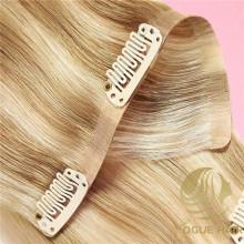Atacado grampo sem costura em extensões de cabelo