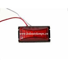 Luz de marcador lateral conduzida impermeável de 100% para o reboque do caminhão, luz da claridade