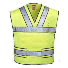 High Visibility Yellow Vest