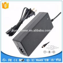 Niveau 6 FCC GS SAA RCM NOM UL PSE alimentation cctv 60w UL classé adaptateur dc 12v 5a