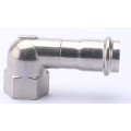 Presione Fitting V Profile Steel Tangent Elbow