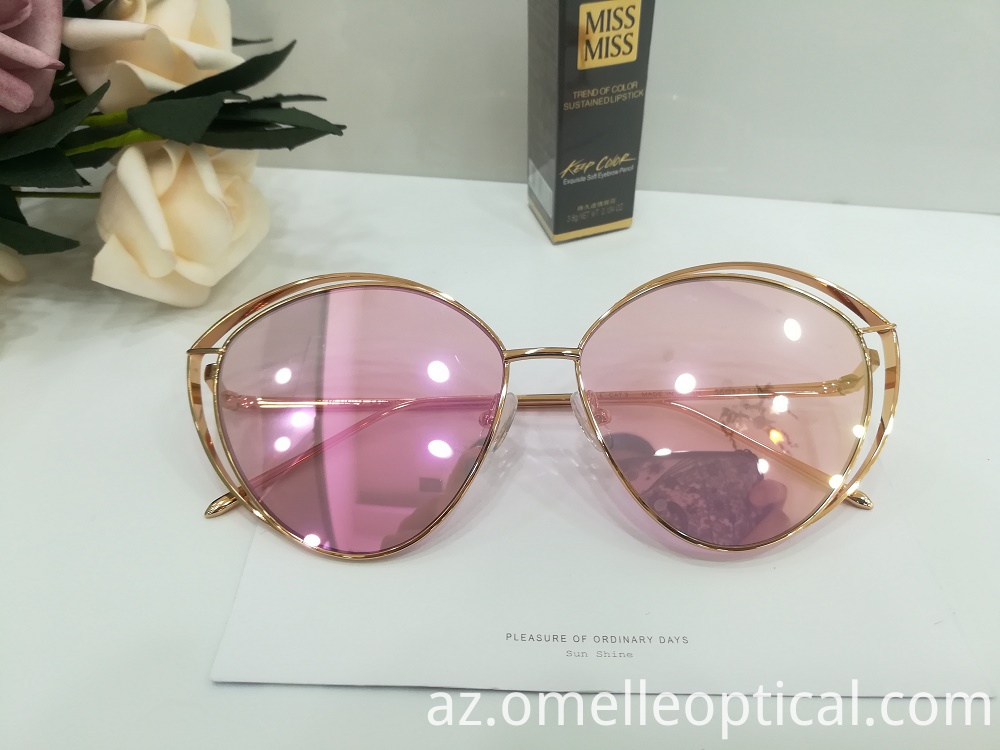 Oval Sunglasses New Look