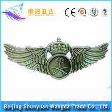 Badge Makers Custom Metal Pilot Wings Pin Badge