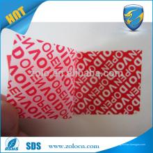 Adesivo de etiqueta de etiqueta de etiqueta personalizada etiqueta de etiqueta de cabo