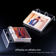 Kundengebundener Acrylkalender-Ausstellungsstand