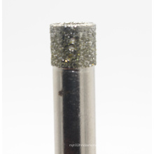 Bocados de broca de núcleo rotativo de diamante para telha de porcelana cerâmica de vidro & pedra