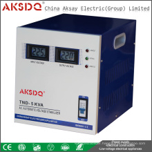 AVR SVC-5000VA Single Phase High Precision Automatic AC Home Voltage Stabilizer Regulatorform Yueqing Factory