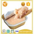 Fabricante vendas sabor de frango por atacado comida de gato enlatada