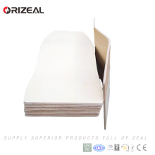 stackable bent plywood parts laminated chair for dining room seat