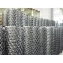 Grillage métallisé expansé galvanisé à chaud