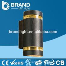 IP65 alta qualidade 2X5W acima para baixo lâmpada de parede ao ar livre do diodo emissor de luz, CE RoHS