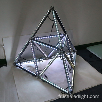 Madrix DMX triangle RVB numérique Bar Light