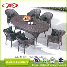 Beautiful Outdoor Rattan Dining Set (DH-6076)