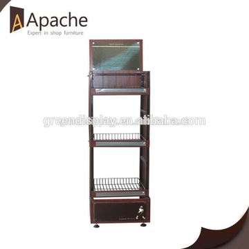 ISO9001:2000 new engine oil display stand
