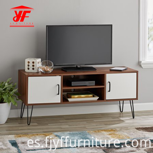 Tv Stand With Metal Legs