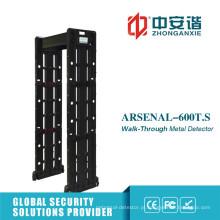 Touch Screen High Precision Detector de metal portátil com sensibilidade de nível 255