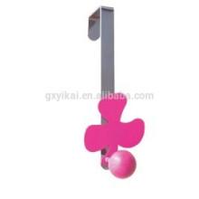 Forme de fleur décorative belle sur le cintre de porte avec un seul crochet