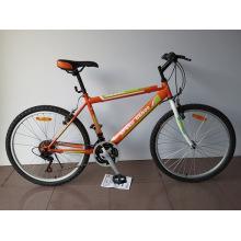 """Bicicleta de montaña con marco de acero de 24 """"(CZ2403)"""