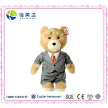 Ted Teddybär Tragen Anzug Plüschtier