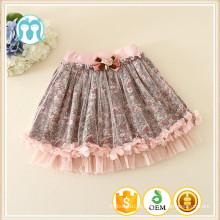 Mini nova saia de tule de design infantil