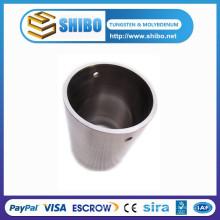 Crisol de fundición de tungsteno y crisol de tungsteno pulido con precio de fábrica