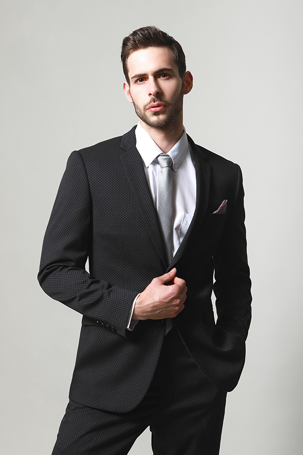 MEN'S JACQUARD SUITS