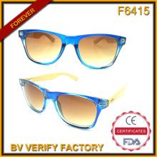 F6415 Новые пластиковые фоторамки солнцезащитные очки с бамбуковыми храмы