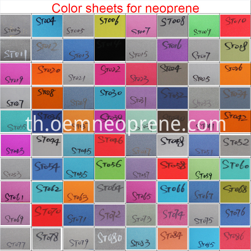 Color Of Neoprene