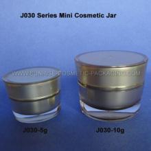 5g 10g cône or Mini cosmétiques contenant de la forme