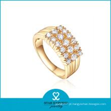 Vogue Popular prata anel jóias com preço barato (R-0610)