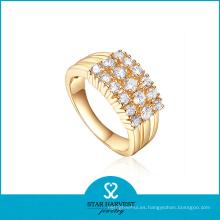 Joyería popular del anillo de plata de Vogue con el precio barato (R-0610)