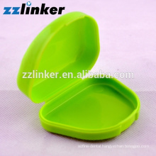 Disposable Colorful Plastic Denture box for keep and Clean denture