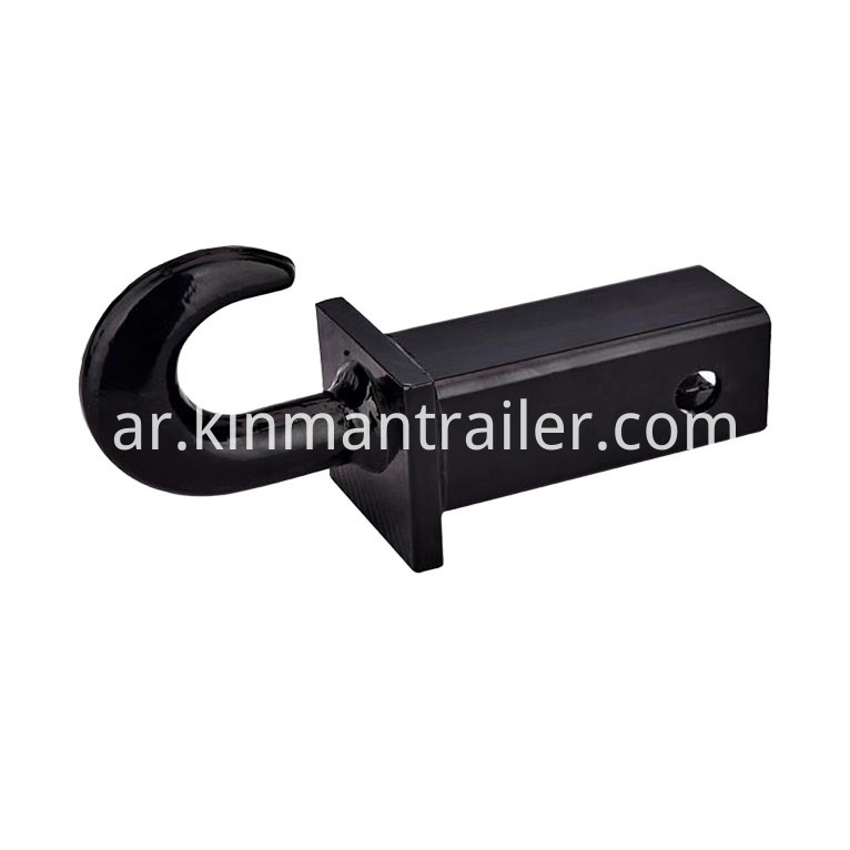 receiver hitch tow hook