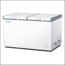 Double Door Double Temperature Horizontal Chest Freezer